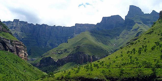 Drakensber, las montañas del Dragón
