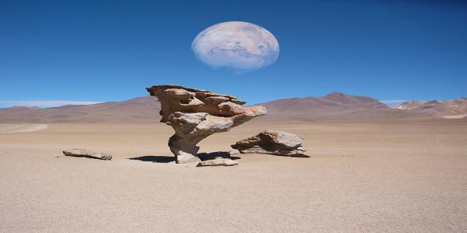 desierto de Siloli en Bolivia