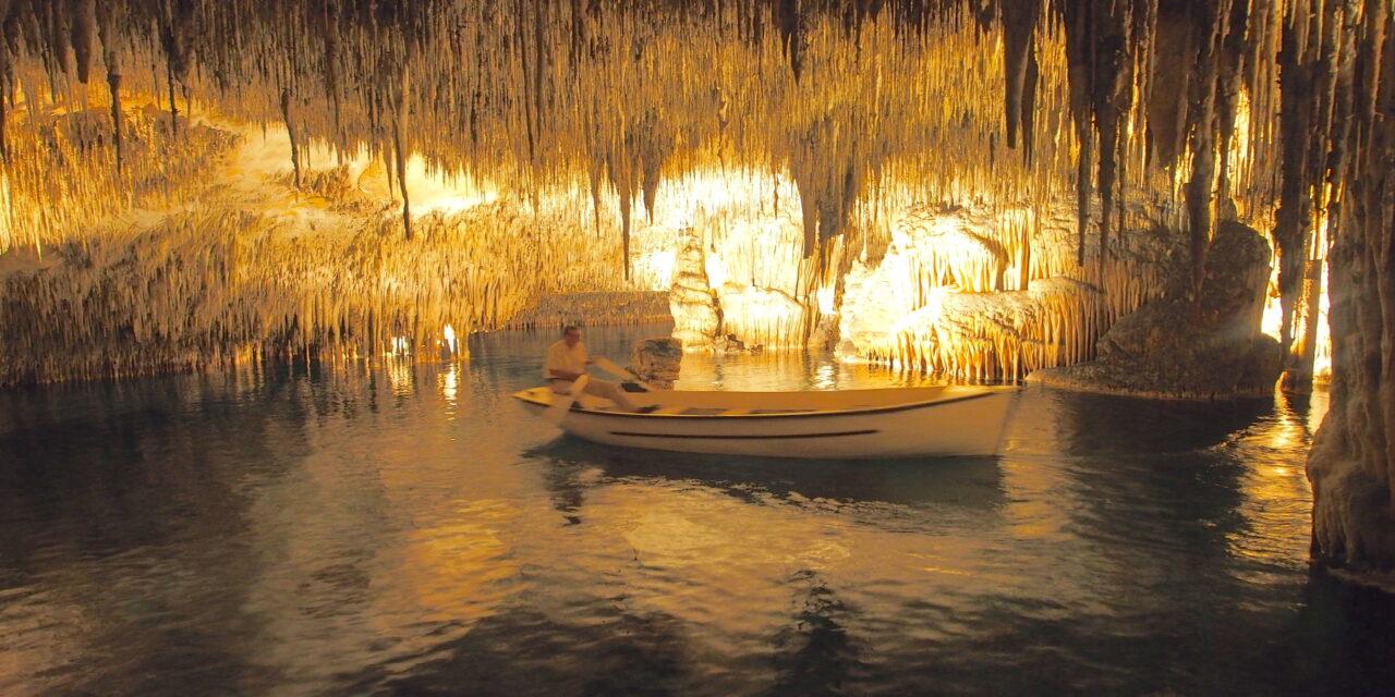 Las cuevas del Drach en Palma de Mallorca