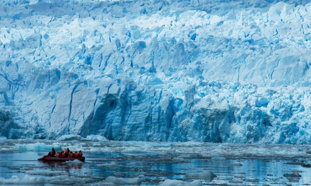 La laguna glaciar de San Rafael en Chile