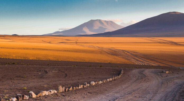 El desierto de Siloli en Bolivia