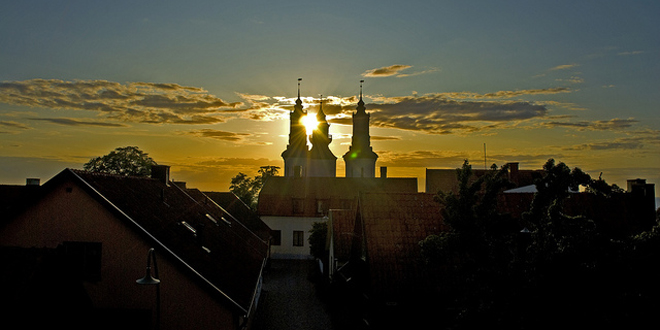 Visby, ciudadela de cuento sueco