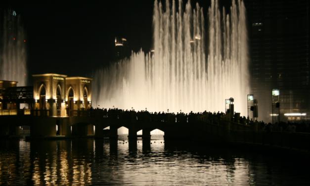 Fuente de Dubái, la fuente danzante más grande del mundo