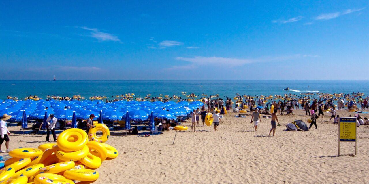 Playa Haeundae, el destino popular en los días calurosos de Busan
