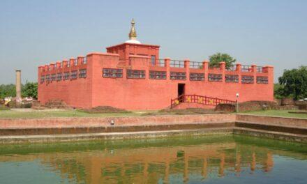 Cuatro estaciones de peregrinación budista