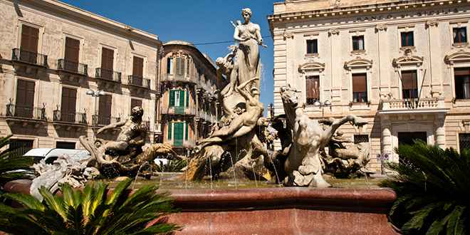 Piazza-Archimede-Siracusa