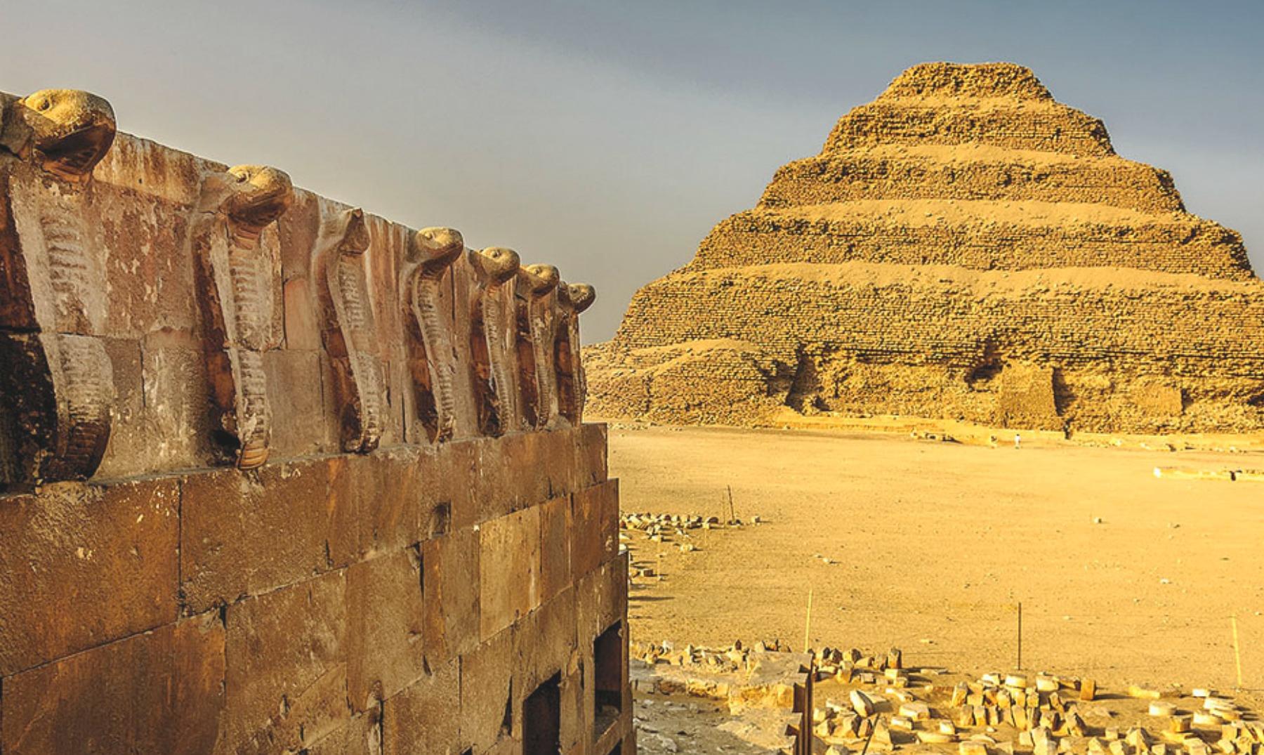 Saqqara aquí nacieron las pirámides - El Viajero Feliz