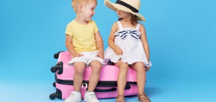 Valija de viaje para niños