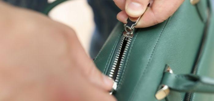 Valija de mano con zipper