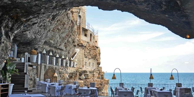 Grotta Palazzese, el restaurante en la cueva