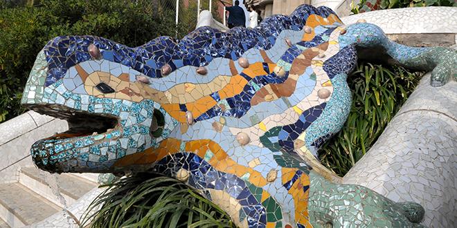 Salamandra del Parque Güell
