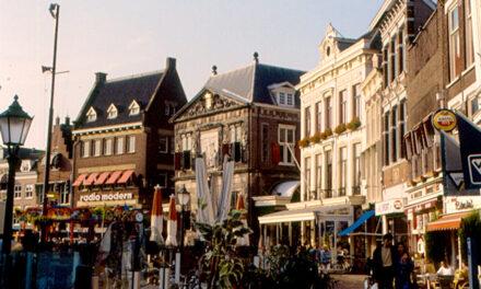 La ciudad de Gouda, Holanda