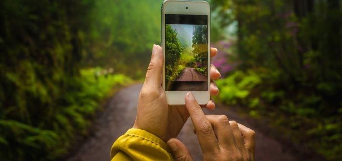 Fotografía capturada con teléfono inteligente   Cómo hacer buenas fotos de viajes