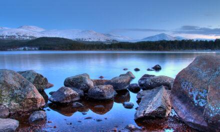 El Parque Nacional de Cairngorms, en Reino Unido