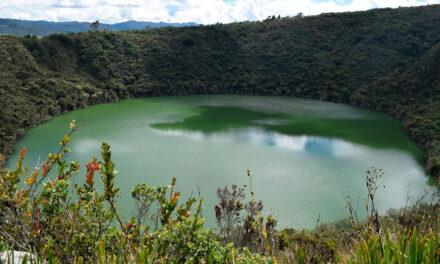 La laguna de Guatavita y la leyenda de El Dorado