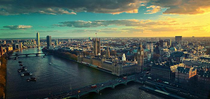 Vista panorámica de Londres