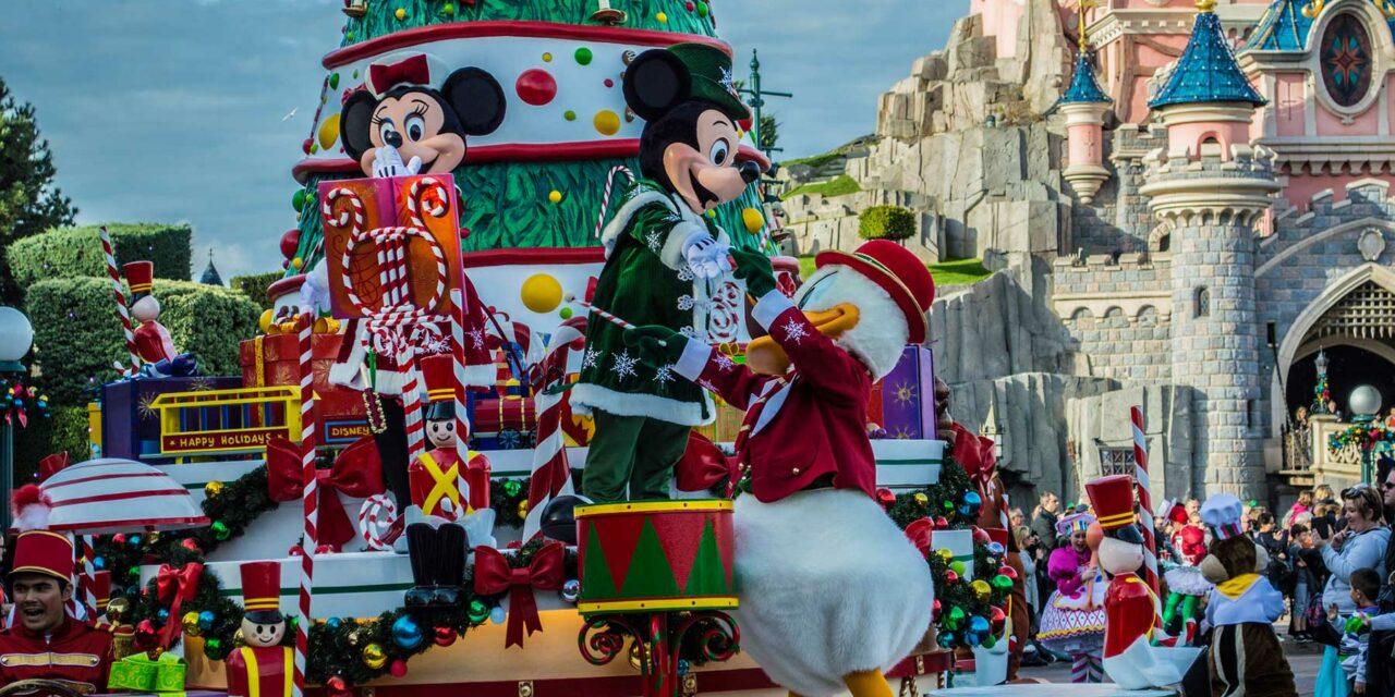 Navidad en Disneyland París