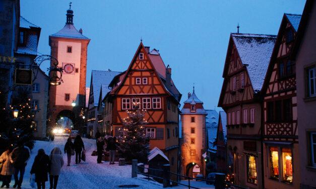 Una Navidad inolvidable en Rothenburg ob der Tauber