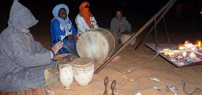 musica berebe por la noche