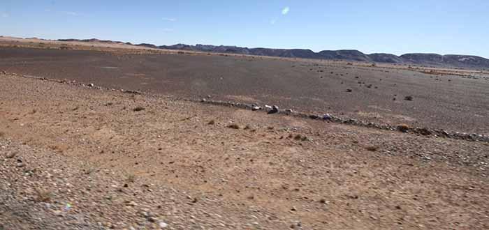 Acercandonos al desierto