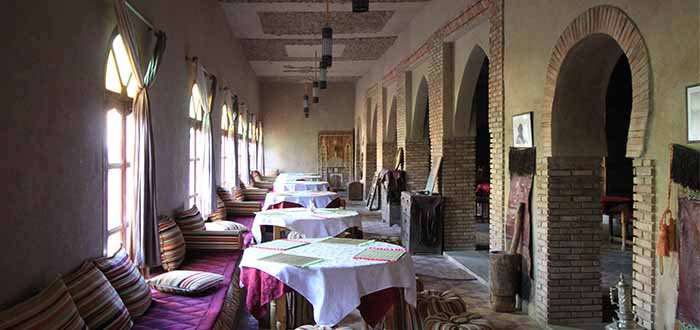 Nomad Palace comedor