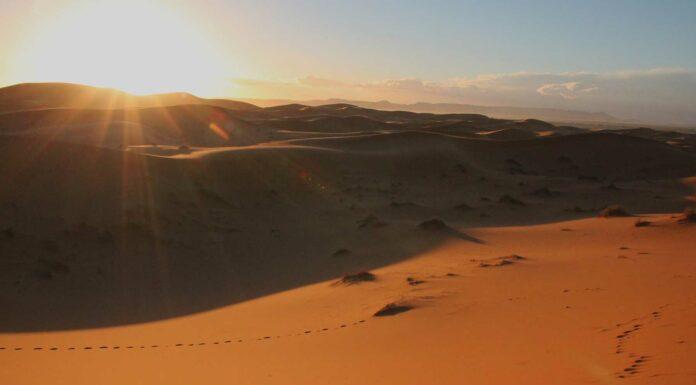 Viaje a Marruecos 2ª Parte - El desierto de Erg Chebbi en Merzouga