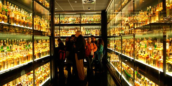 Museo del Whisky de Edimburgo