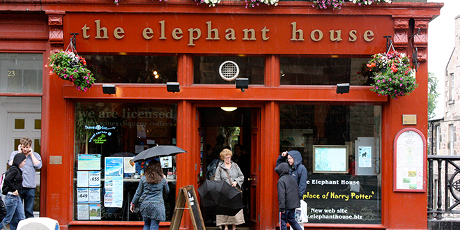 The Elephant House en Edimburgo