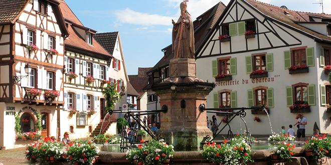 Eguisheim en Alsacia