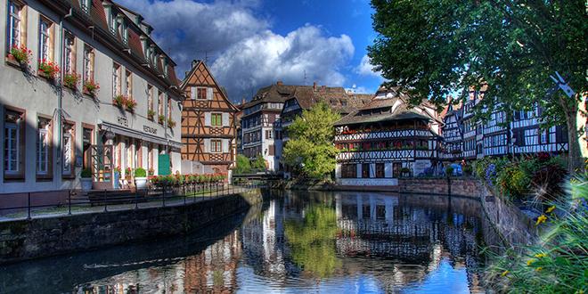 Estrasburgo en Alsacia