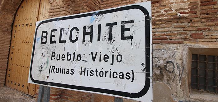 Belchite Viejo Ruinas