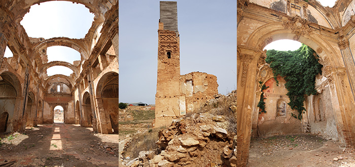 Belchite ruinas historicas
