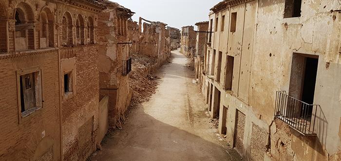 Belchite ruinas