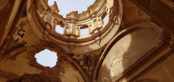 Belchite viejo historia
