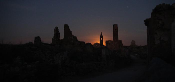 Belchite visita nocturna