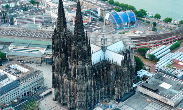 La espectacular catedral de Colonia, una joya gótica