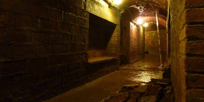 Refugio de laPlaza del Diamante en Barcelona