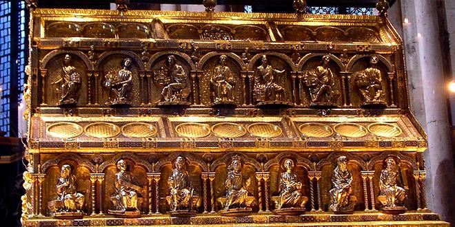 Relicario en la catedral de Colonia