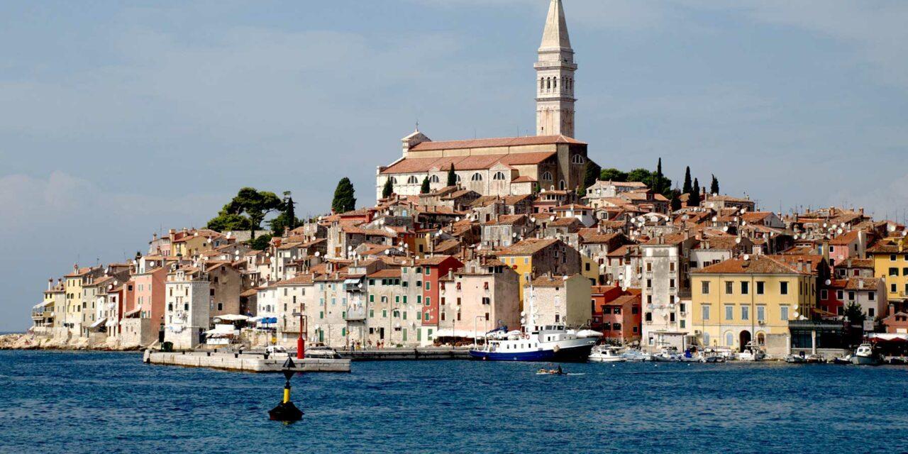 La romántica Rovinj en Croacia