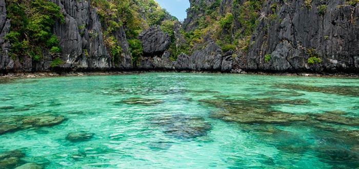 Isla de Palawan, Small Lagoon