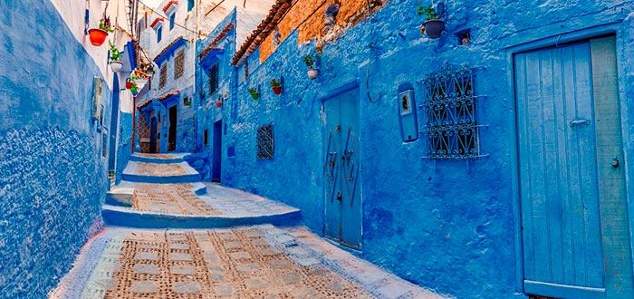 países africanos que visitar, chefchaouen, marruecos