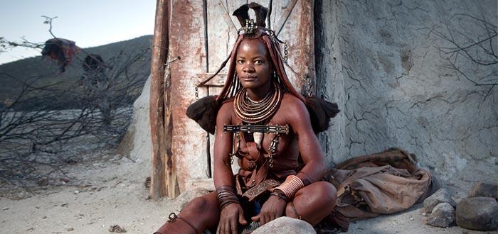 países africanos que visitar, Namibia, tribu Himba