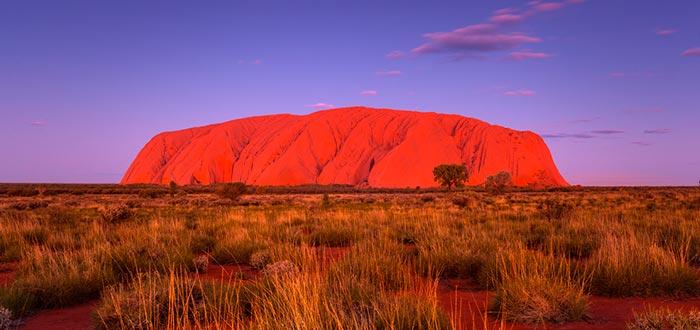 Visitar de Oceanía, Monte Uluru, Ayers Rock, Australia