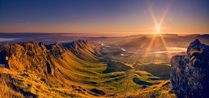 Vistas al Te Mata, Nueva Zelanda, Visitar de Oceanía