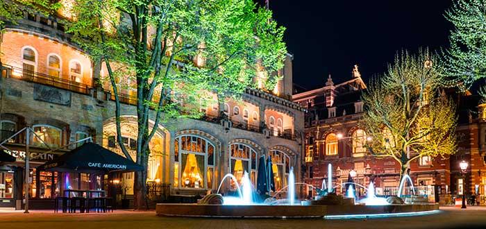 Qué ver en Amsterdam 16 Leidseplein
