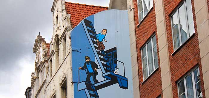 Qué ver en Bruselas 8 Ruta del cómic