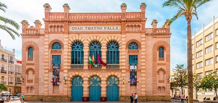 Qué ver en Cádiz 10 Gran Teatro Falla