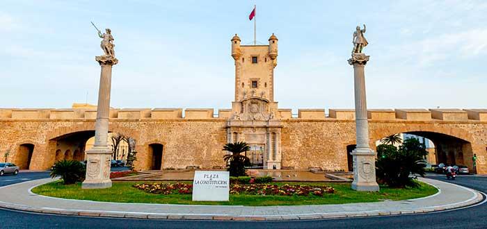 Qué ver en Cádiz 3 Puerta de Tierra