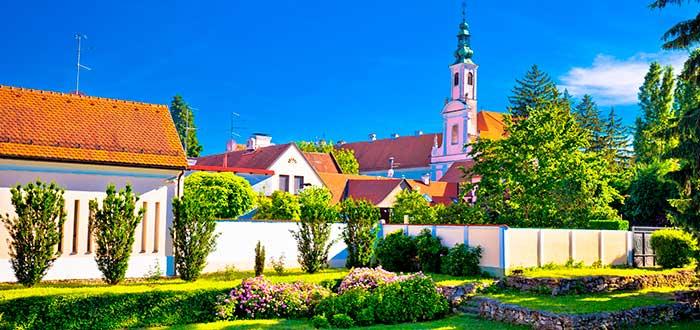 Qué ver en Croacia, Casco histórico de Varazdin