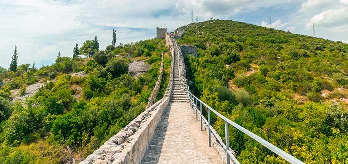 Qué ver en Croacia, Muralla de Ston